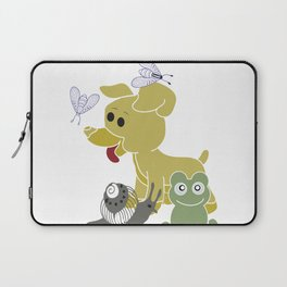 Frogs and snails and puppy dog tails Laptop Sleeve