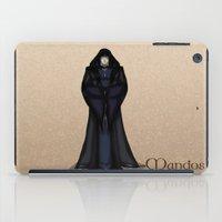 valar morghulis iPad Cases featuring Mandos by wolfanita