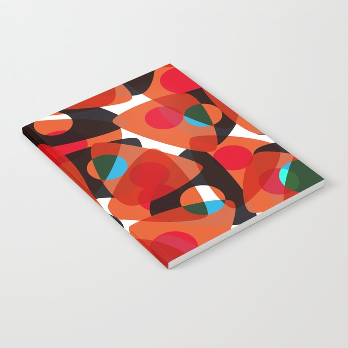 orange 70s Notebook