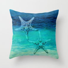 STARS OF THE SEA Throw Pillow