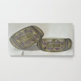 traditional armband Metal Print