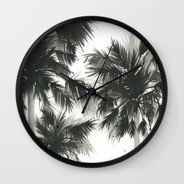 Paradis Noir IV Wall Clock