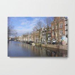 Amsterdam canal 3 Metal Print