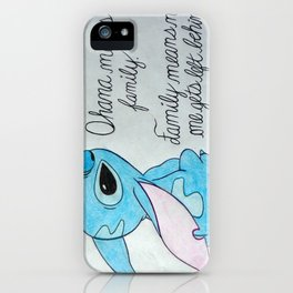 The Best Lilo and Stitch Quote iPhone Case