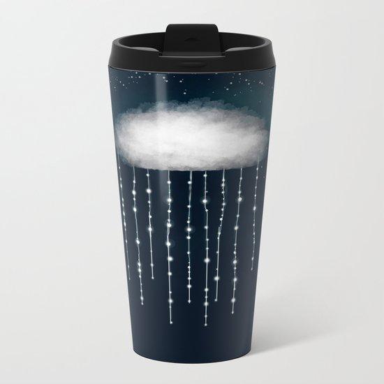 In rain we shine Metal Travel Mug
