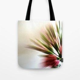 Radial Roses Tote Bag