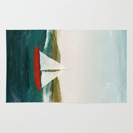 The Boat that Wants to Float Rug