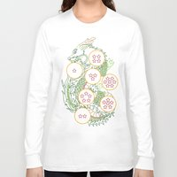 dbz Long Sleeve T-shirts featuring DBZ- Shenron Linear Color by Li Boggs