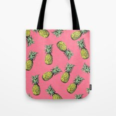 fresh pineapple! Tote Bag