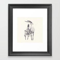 もののけ姫 Framed Art Print