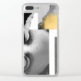 Composition 789 Clear iPhone Case