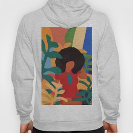 Get lost in nature and you will find yourself  #art print #abstract art Hoody