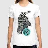 samurai T-shirts featuring Samurai by  Steve Wade ( Swade)