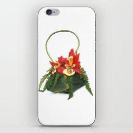 Orchid Handbag Two iPhone Skin