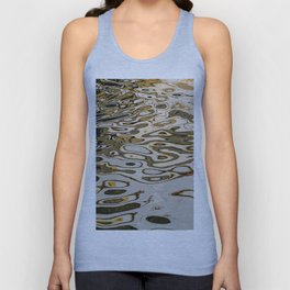 Water ripples abstract Unisex Tank Top