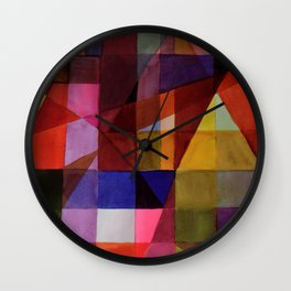 couleurs Wall Clock