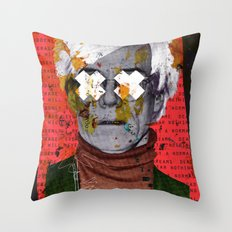 Fame Kills Throw Pillow