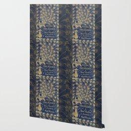 Pride and Prejudice by Jane Austen Vintage Peacock Book Cover Wallpaper
