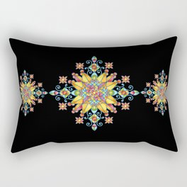 Alhambra Stained Glass Rectangular Pillow