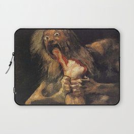 SATURN DEVOURING HIS SON - GOYA Laptop Sleeve