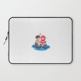 ponyo on the cliff by the sea Laptop Sleeve