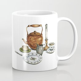 Then Her Soul Sat on Her Lips Coffee Mug