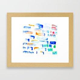 Stripe Framed Art Print