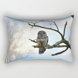 Magical Winter Owl Rectangular Pillow