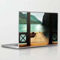 lake Laptop & iPad Skins featuring Lake by Viggart