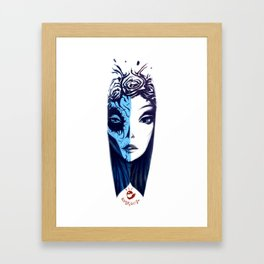 Dos Caras Framed Art Print