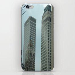 Art Deco Downtown Tulsa iPhone Skin