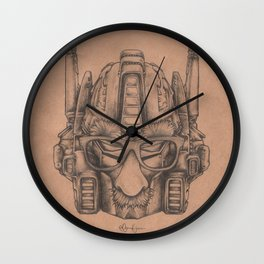 Robots in Disguise: Optimus Wall Clock