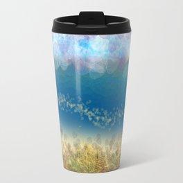 Abstract Seascape 02 wc Travel Mug