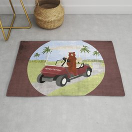 #HoneyHunter Rug