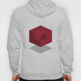Simple abstract cube Hoody