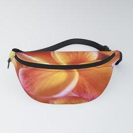 Orange Plumeria Fanny Pack
