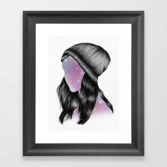 Fxxking Hipster Framed Art Print