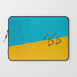 yellow blue pool Laptop Sleeve