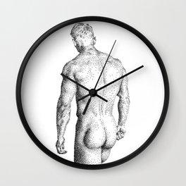 David - Nood Dood Wall Clock