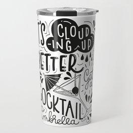 Cocktail Umbrella Travel Mug