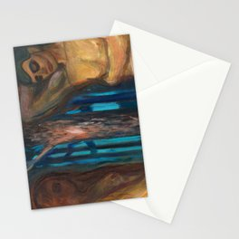 Metabolism by Edvard Munch Stationery Cards