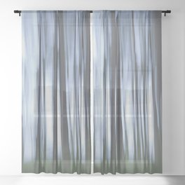 Mysterious Forest Sheer Curtain