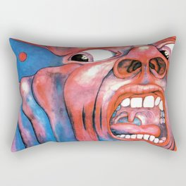 In the Court of the Crimson King Rectangular Pillow