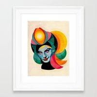 goddess Framed Art Prints featuring Goddess by Alvaro Tapia Hidalgo