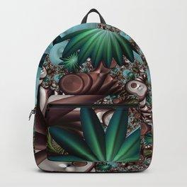 Tropical Trails Fractal Backpack