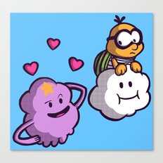 Lumpy Space Princess: You know you want these lumps! Canvas Print