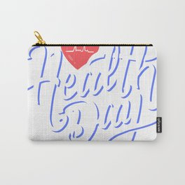 Health Life Carry-All Pouch