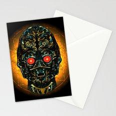 Sith Three Pe Oh Sacrifice Procurement Drone Stationery Cards