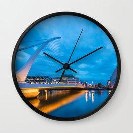 DUBLIN 01 Wall Clock