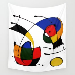 In the Style of Miro Wall Tapestry